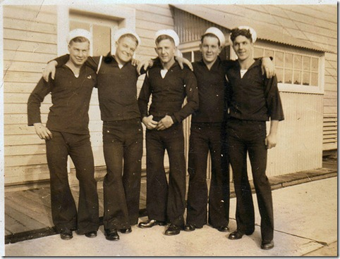 group of sailor boys