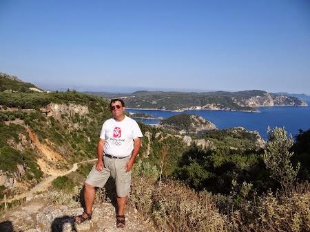 27. Pe citadela Angelokastro in Corfu.JPG