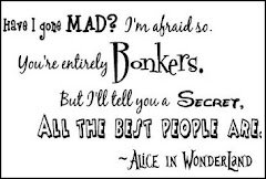 Vintage Alice in Wonderland wall decal quotes