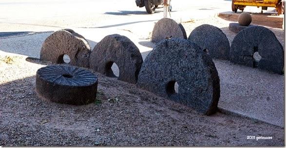 BTK Museum grinding stones