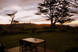 The Backyard at Steeples Cottage - Cape Foulwind, New Zealand