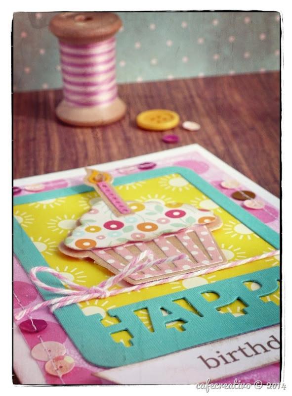 cafe creativo - Anna Draicchio - sizzix big shot - card cupcake