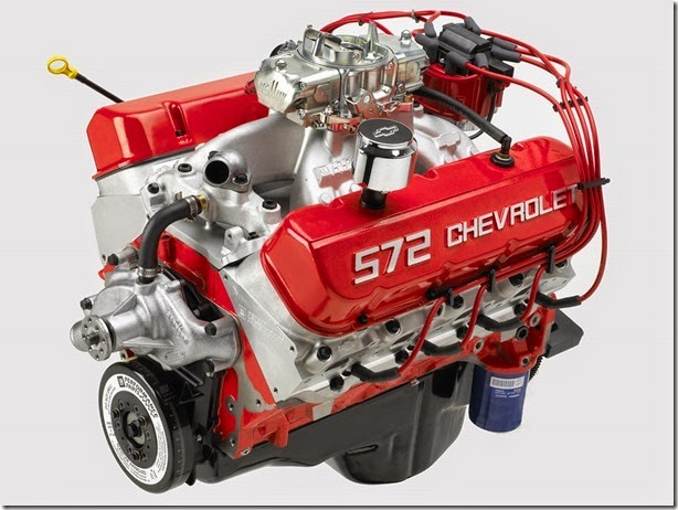 2003 Chevrolet 572ci/620 hp V8 Big Block Crate Engine