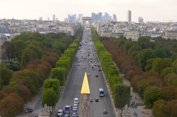 Champs Elysées arc triomphe