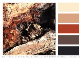 Free printable color palettes color moodbard combos 42 capi milliande