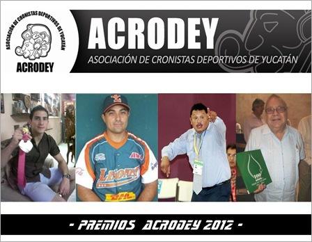 Premiados ACRODEY 2012