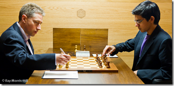 Adams vs Giri, Round 5, FIDE GP London 2012