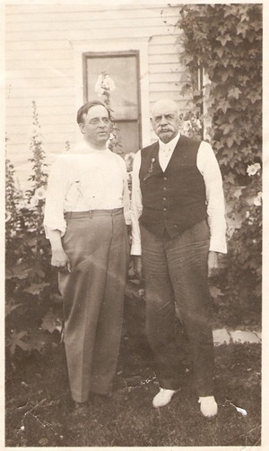John B and John B Barnes Sr.