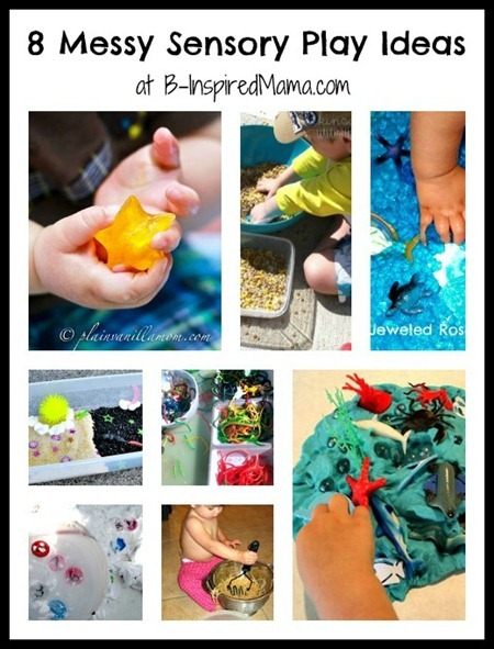 Messy Sensory Play Ideas 1