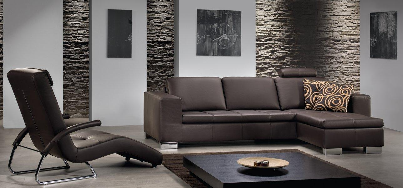 Modern shabby chic living room terrasse en bois - Interieur maison deco ...
