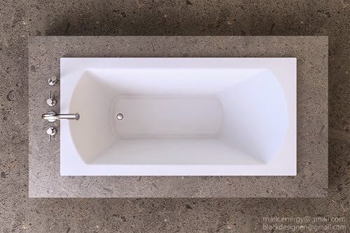 Metropolis Bathtub Close up