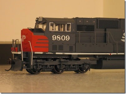 IMG_0728 Athearn Genesis SD70M Southern Pacific #9809