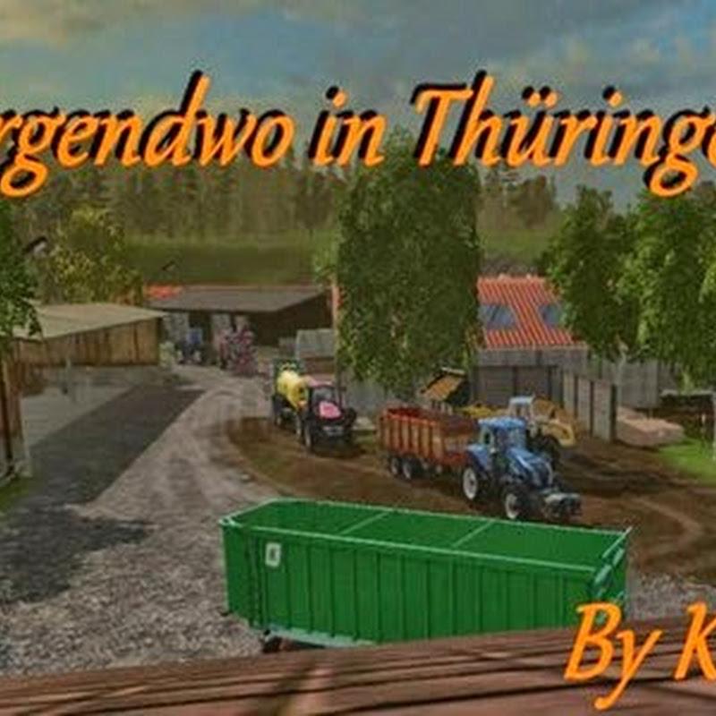Farming simulator 2015 - Somewhere in Thuringia v 1.3