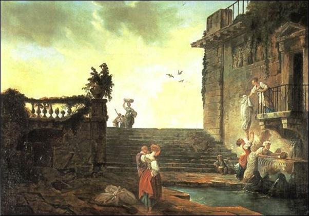 Hubert Robert, Monuments en ruines