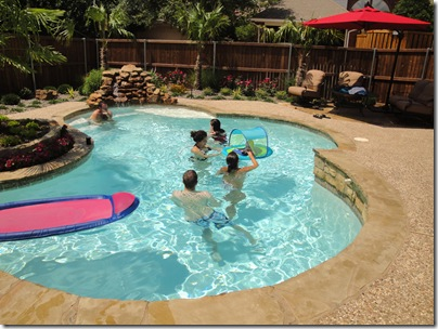 1.  Pool time