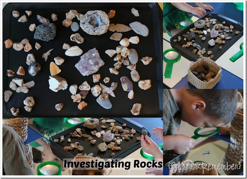 Investigating Rocks in Preschool