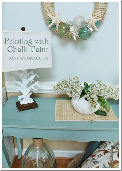 Painting with Chalk Paint by Sand & Sisal