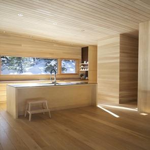 Casa la luge yh2 architecture canad arquitexs for Planchas para revestimiento interior