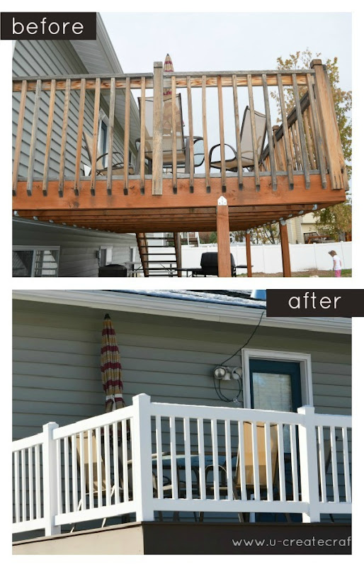 Before After Trex Deck HomeAdvisor