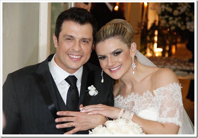 2012.05.01 Casamento entre Mirella Santos e Wellington Muniz, no espaço de eventos La Luna, em São Paulo.(fotos: Amauri Nehn/Orlando Oliveira/AgNews)