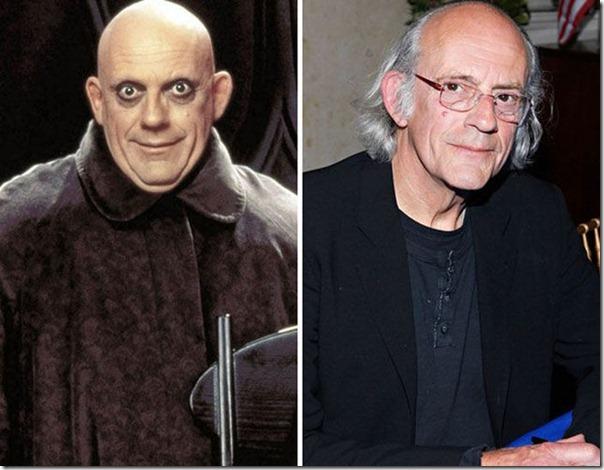 A família Addams antes e agora (6)