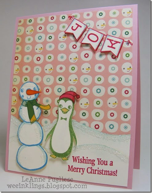 LeAnne Pugliese WeeInklings Merry Monday 131 Christmas Cosmo Cricket