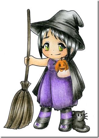 LITTLE WITCH - PURPLE