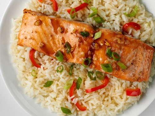 Honey-Ginger_Baked_Salmon_with_Jasmine_Rice1
