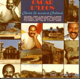 Oscar D' Leon - Canta La Musica Cubana I