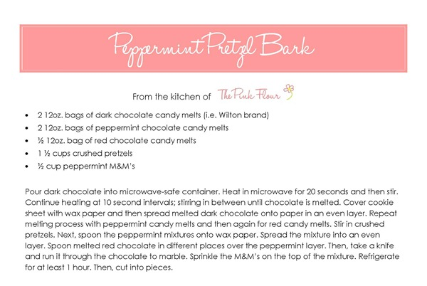 Peppermint Pretzel Bark Recipe