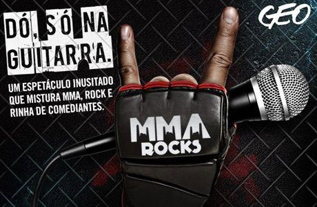 MMA Rocks dia 08 de dezembro no HSBC Brasil