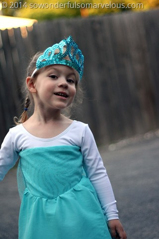 Frozen Elsa Dress DIY