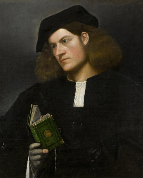 Giorgione Giovane con il libro verde