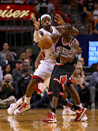 lebron james nba 130104 mia vs chi 09 King James Debuts LBJ X Portland PE But Ends Scoring Streak
