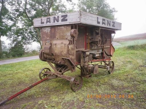 Stahl-Lanz Dreschmaschiene