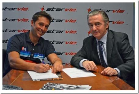 Matías Díaz renueva con STAR VIE y se convierte en el jugador insignia de la firma.