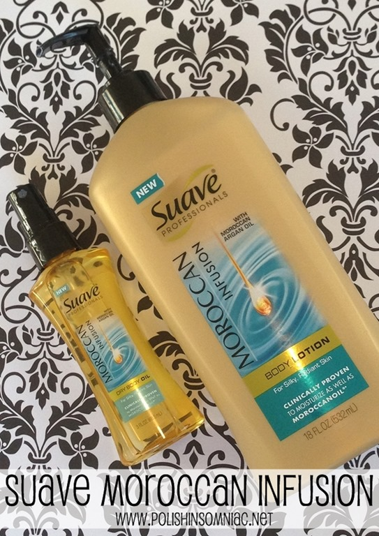 Moroccan Infusion Body Lotion and Dry Oil Spray #SuaveBH
