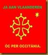 Bandièra occitana 2 Vlaanderen