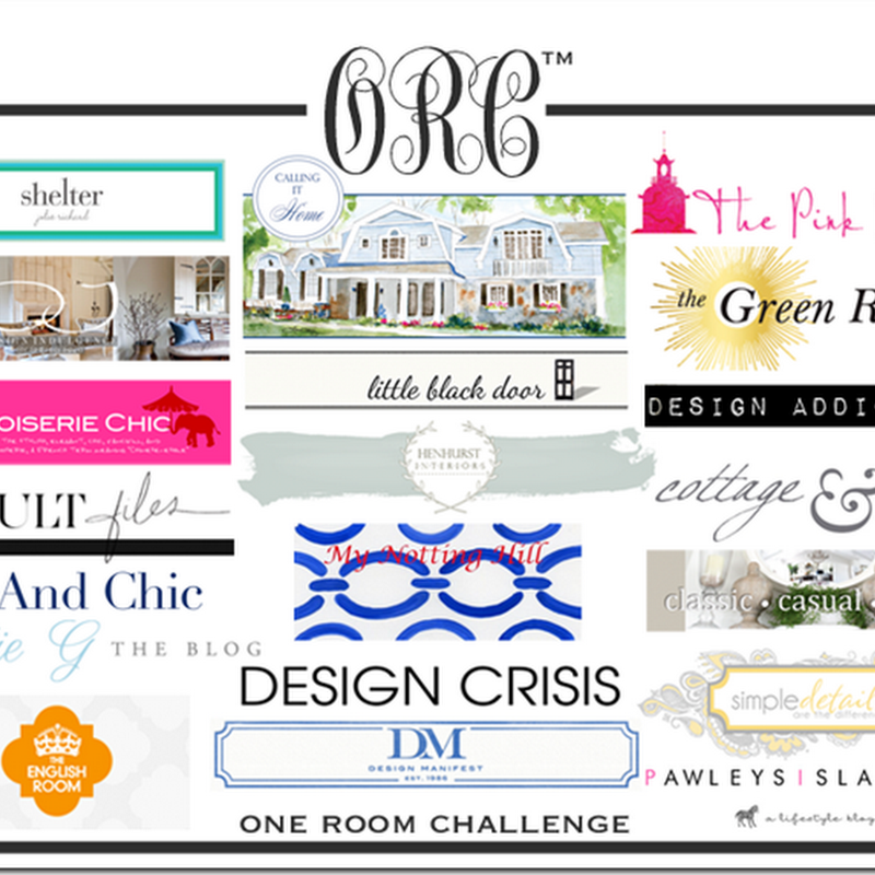 One Room Challenge: Week 4; Feng Shui Elements