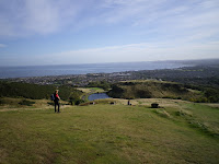Walking up Arthur\'s Seat