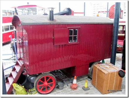 Workman's caravan.