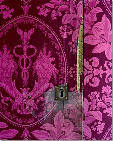 Robert Polidori Versailles Attique du Midi Detail of Door and Keyhole #1 2007