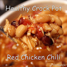 Healthy Crock Pot Red Chicken Chili