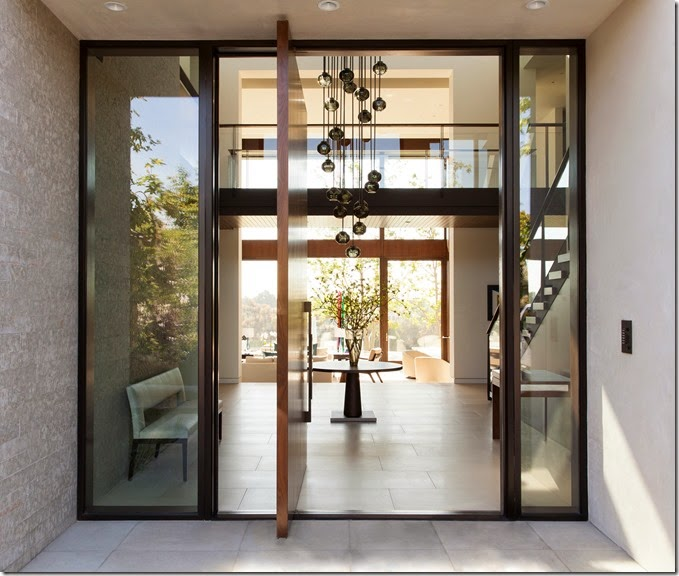 Custom Pivot Door