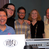 Chris Sligh & Chris August in studio WBFJ 9-15-10
