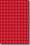 iPhone Wallpaper - Berry Red Houndstooth - Sprik Space