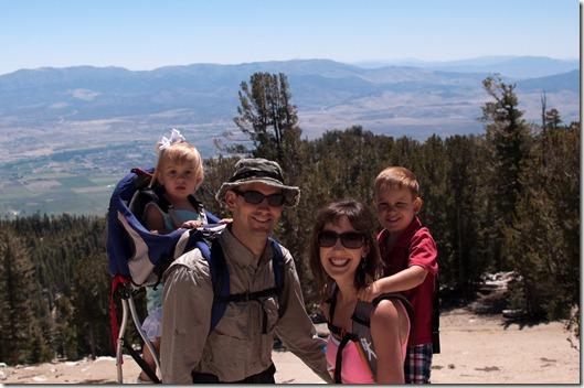 Hiking on Heavenly Mountain - Lake Tahoe