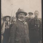 И.Ф. Бострем на параде бойскаутов в 1917 г.