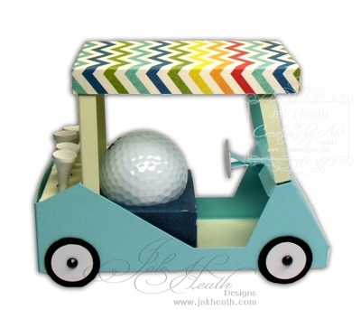 His golf cart1