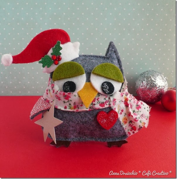 cafe creativo - Anna Drai - sizzix big shot - christmas gift jar owl (5)